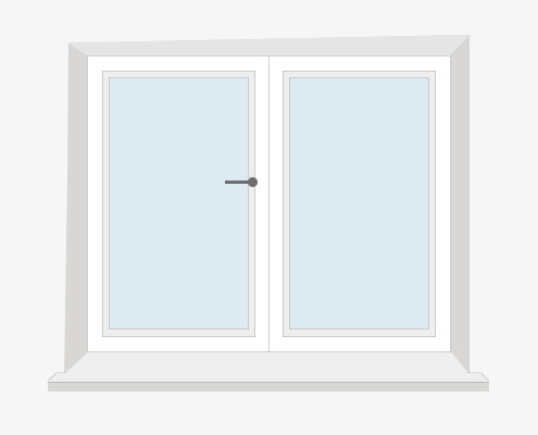 How to Measure Your Wonky Window for Shutters - Inside Recess by Plantation Shutters Ltd - DIY Shutters