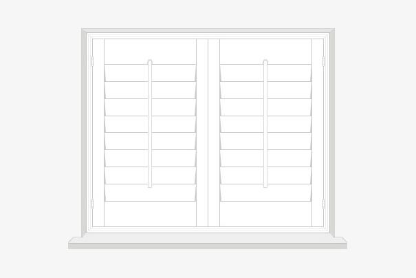 Full Height Shutters by Plantation Shutters Ltd - DIY Shutters