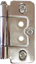 Nickel Plated Hinge by Plantation Shutters Ltd - DIY Shutters
